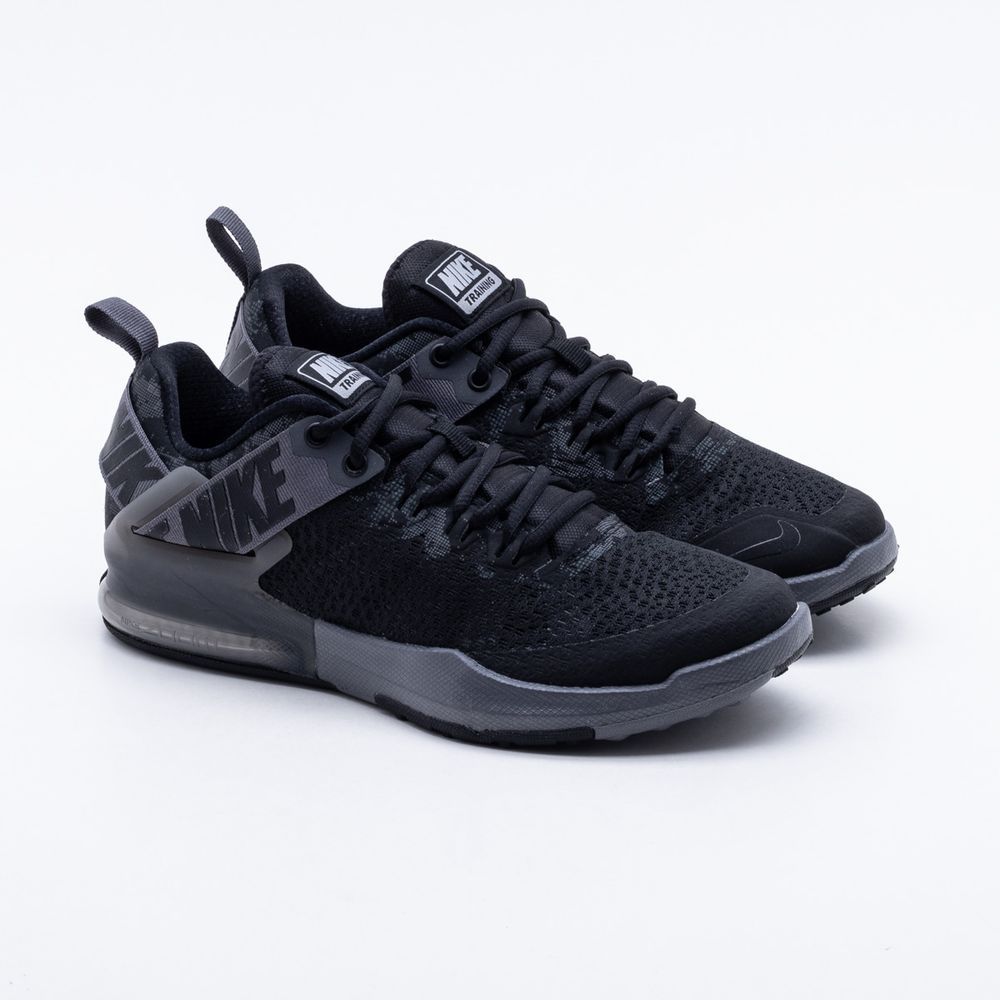 3066be86603 Tênis Nike Zoom Domination Masculino Preto e Chumbo - Gaston ...