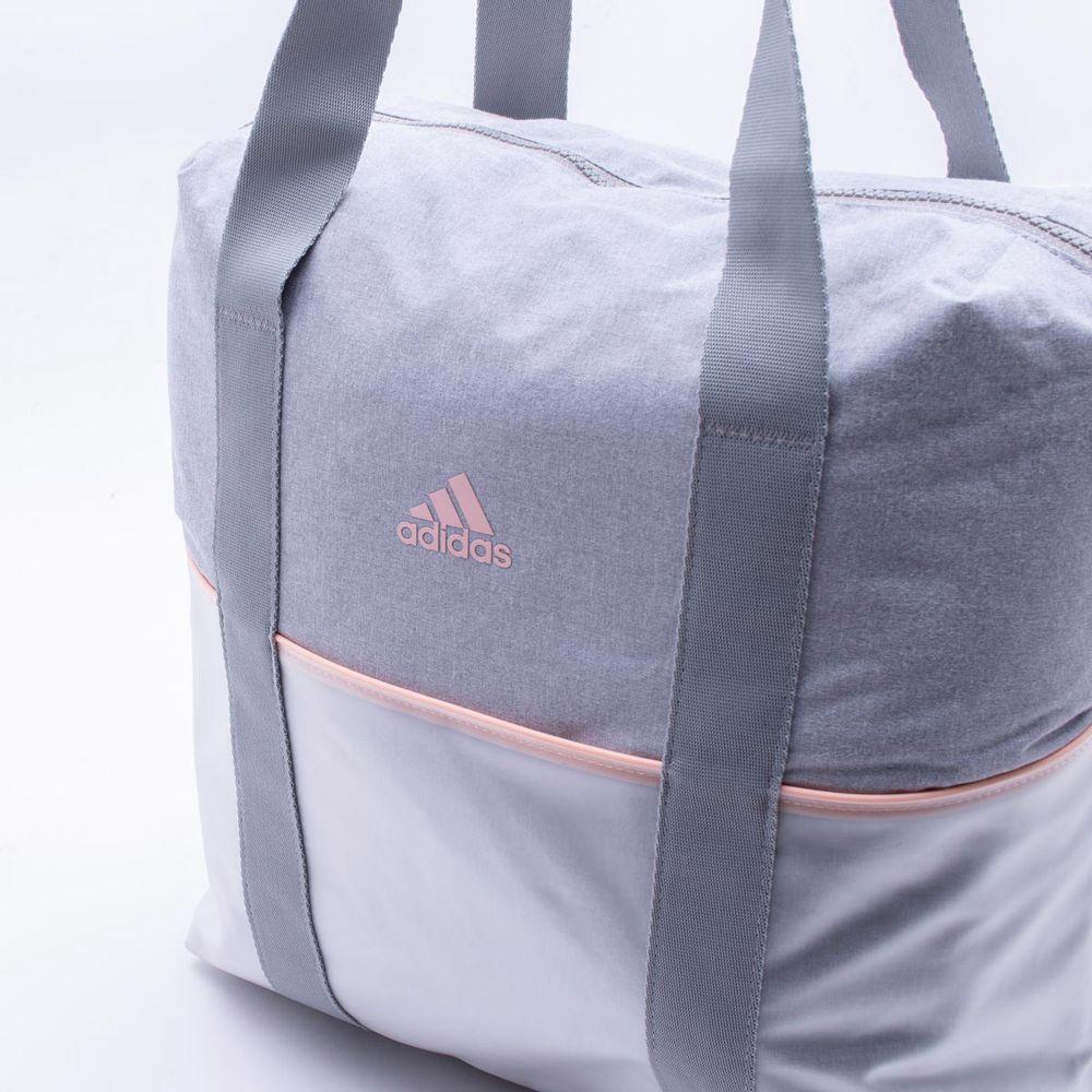 89268c82b Bolsa Tote Adidas ID Cinza Cinza e Laranja - Gaston - Paqueta Esportes