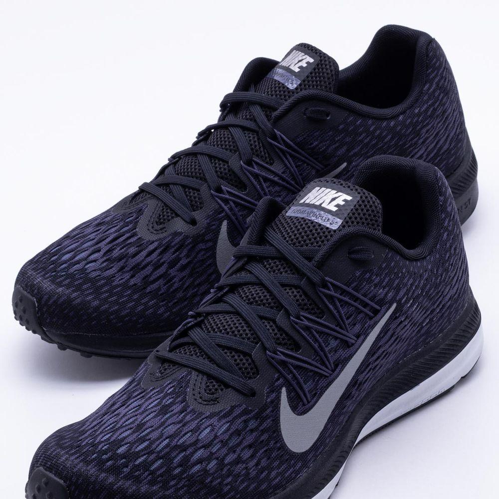 e59fa2b641c Tênis Nike Zoom Winflo 5 Masculino Preto - Gaston - Paqueta Esportes