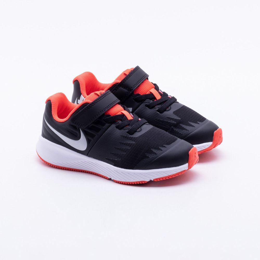cf4eff59ac Tênis Nike Infantil Runner JDI Infantil Preto Preto - Gaston ...
