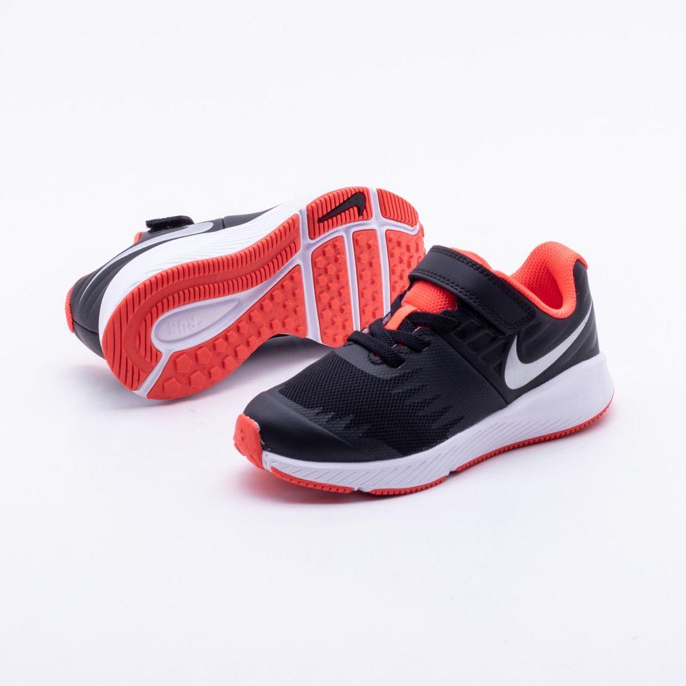 Tênis Nike Infantil Runner JDI Infantil Preto Preto - Gaston - Paqueta  Esportes 9b486f08e7edd