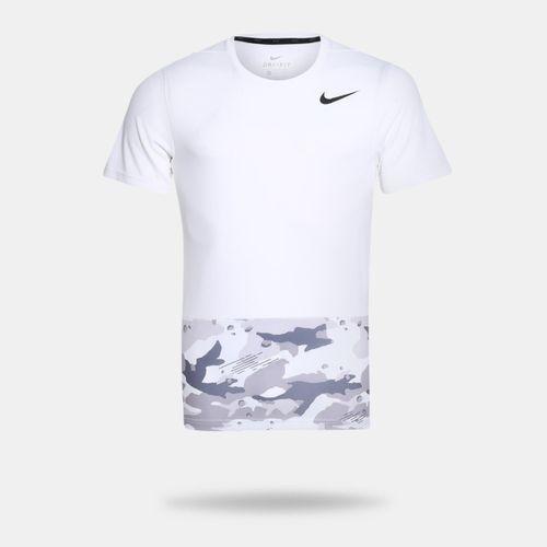6c7a4d0f9f3a1 Camiseta Nike Breathe Branca Masculina