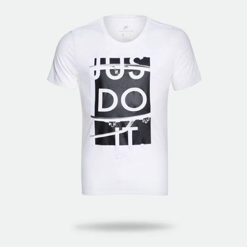 Camiseta Nike TEE NSW JDI Branca Masculina 401b70d2a7a