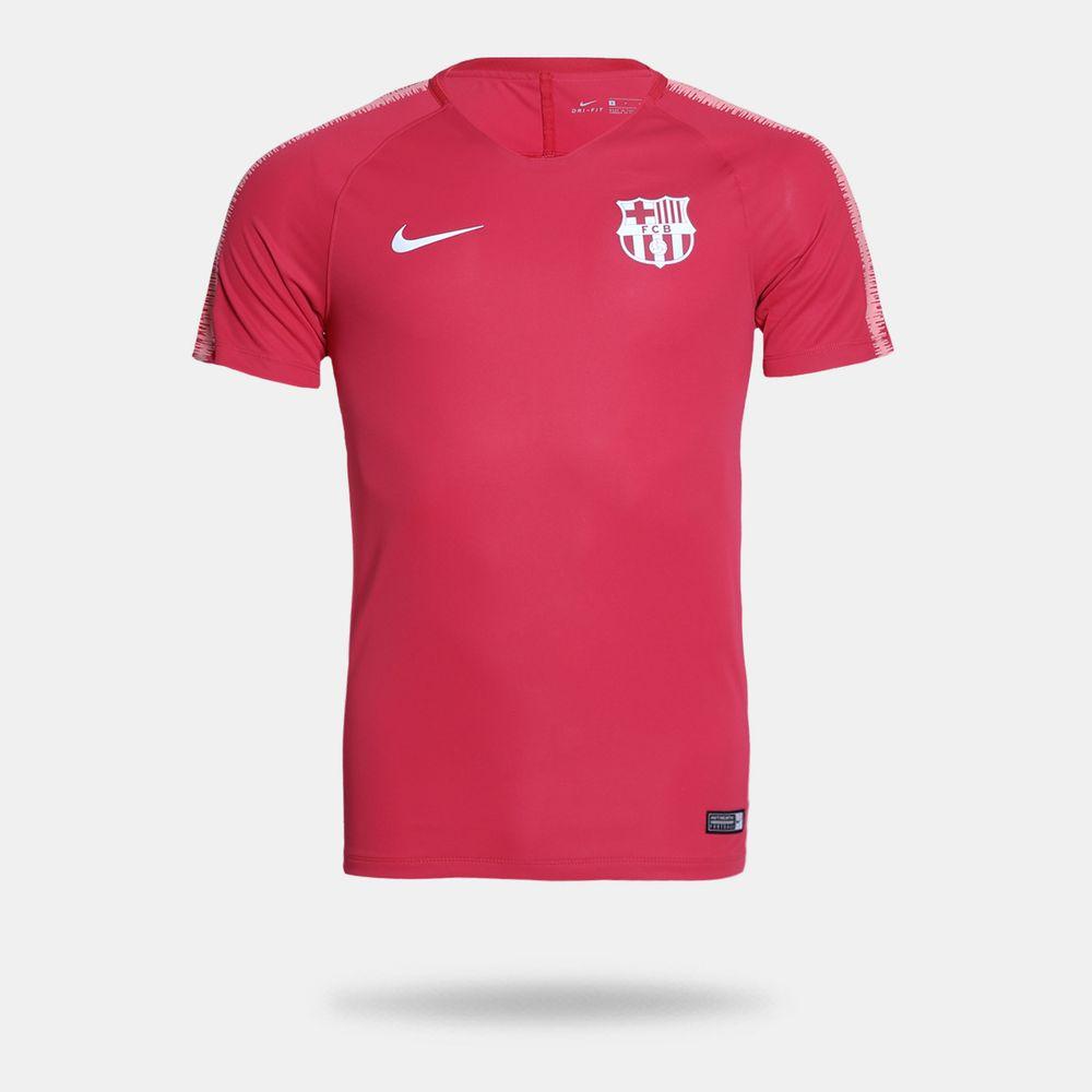Camisa Nike Barcelona 2018 2019 Treino Rosa Masculina Rosa - Gaston ... 99c36dc9c06fe