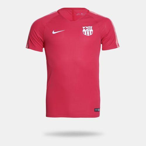 Camisa Nike Barcelona 2018 2019 Treino Rosa Masculina c57936bca3749