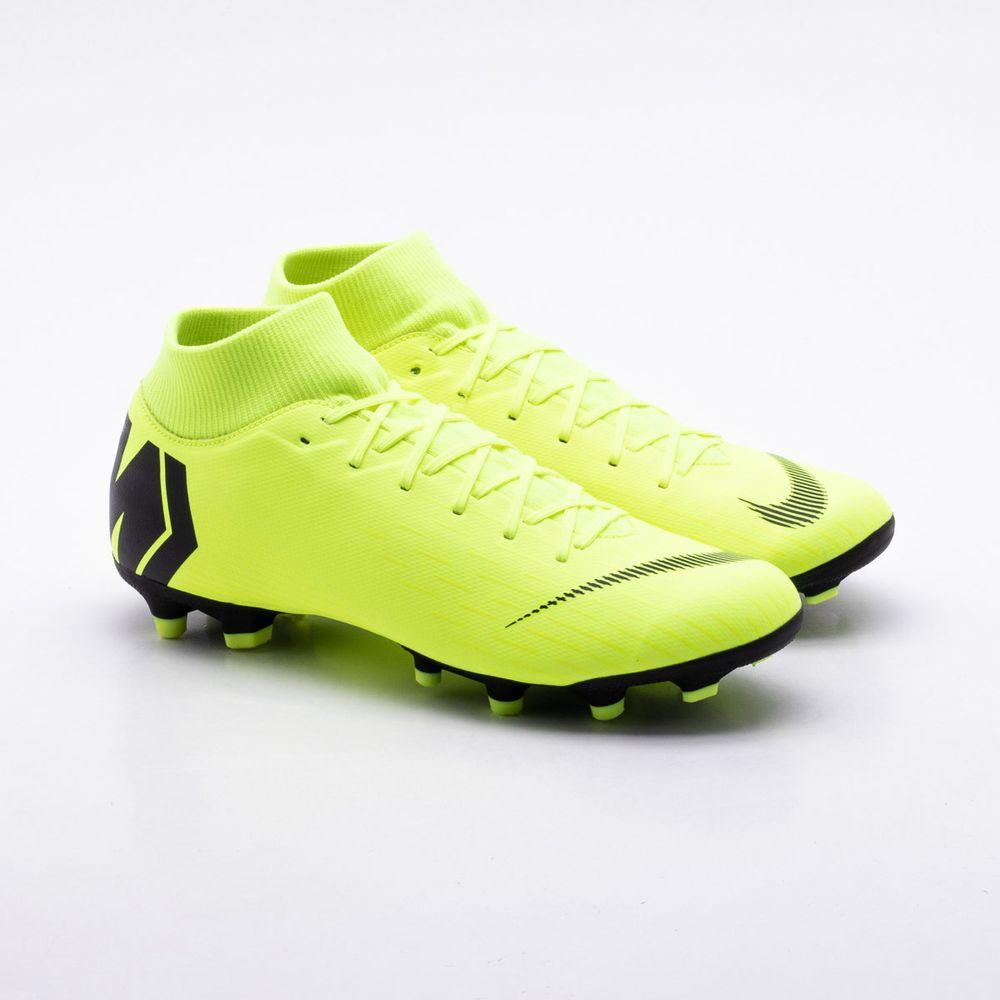 0d1c93e018fee Chuteira Campo Nike Mercurial Superfly VI Academy FG Amarelo ...