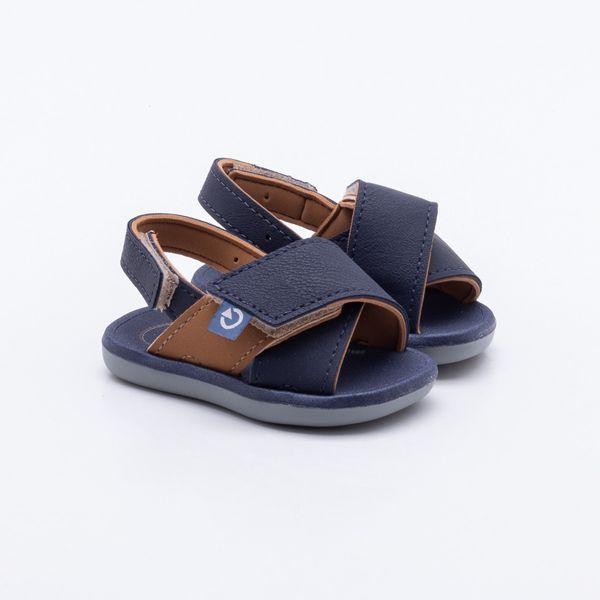 df81d4840e Sandália Cartago Baby Meus Primeiros Passos Azul