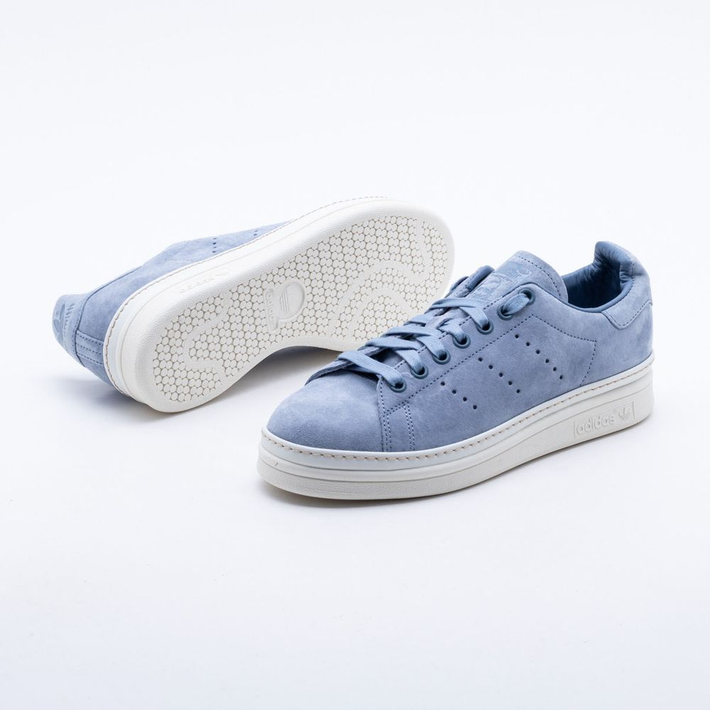 87f340c43f6 Tênis Adidas Stan Smith New Bold Originals Azul Feminino Azul ...