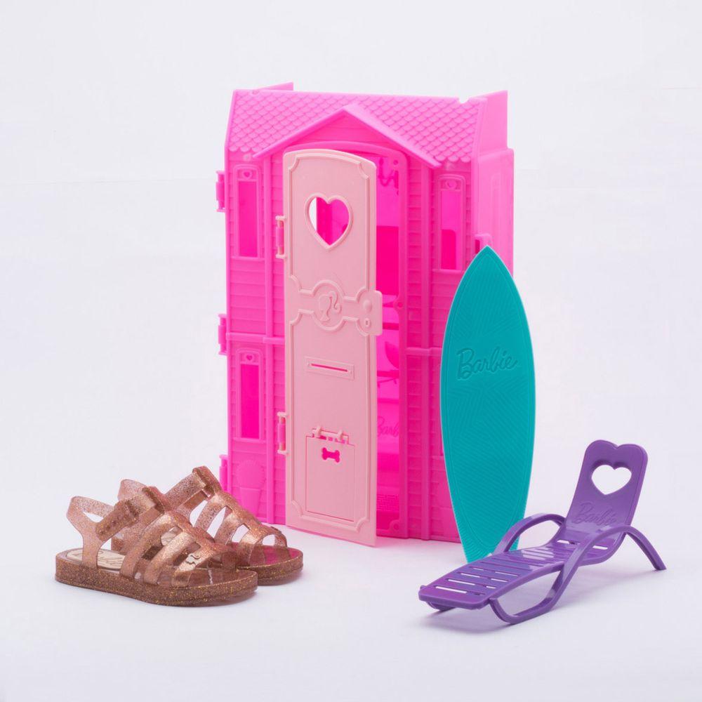 384a709689d8 Sandália Grendene Kids Infantil Barbie Dreamhouse Rose Rose - Gaston -  Gaston