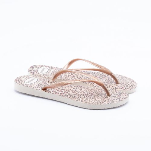 d091f11e3a7a5 Chinelo Havaianas Slim Animals