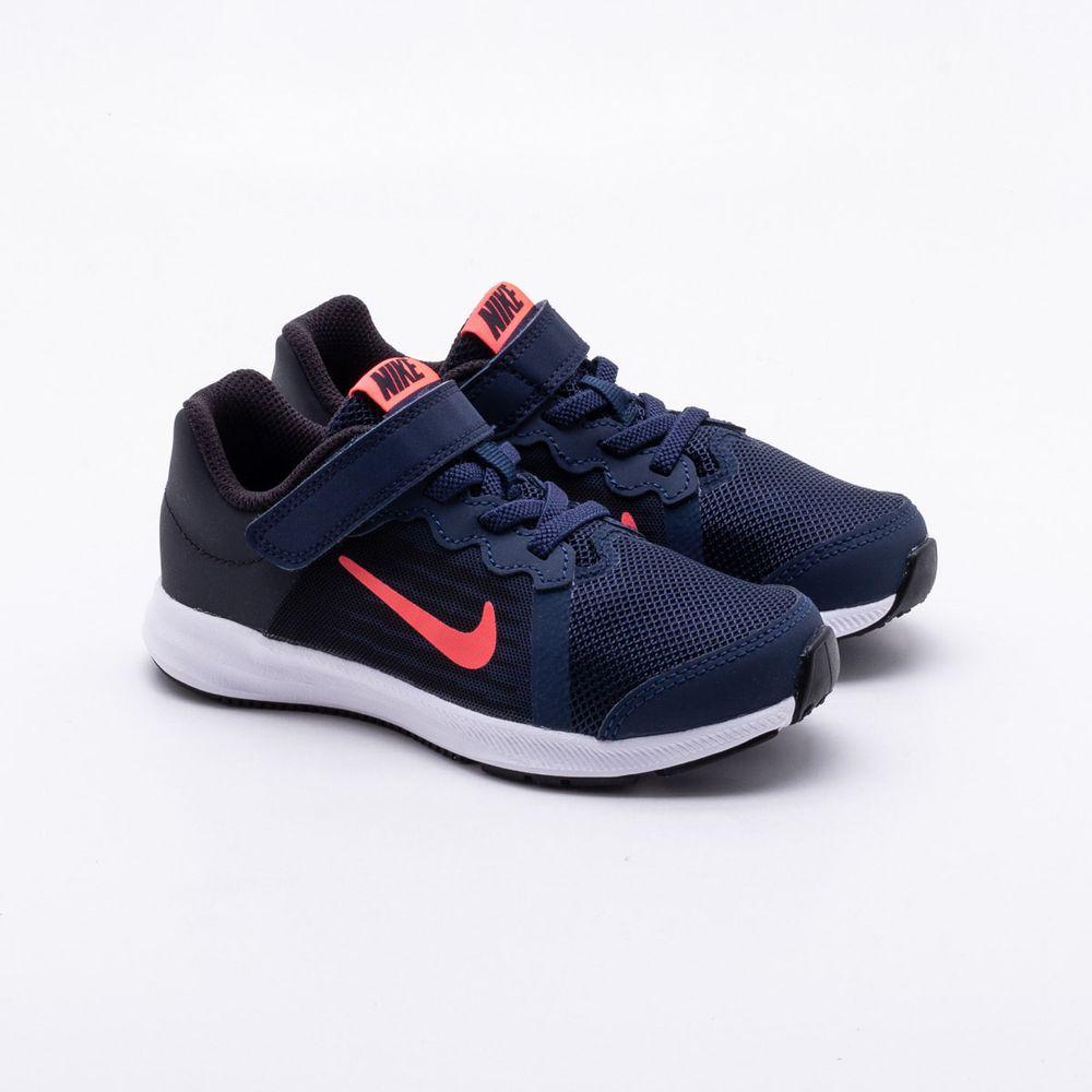 Tênis Nike Infantil Downshifter 8 Marinho Marinho - Gaston - Paqueta ... a33844e5ced85