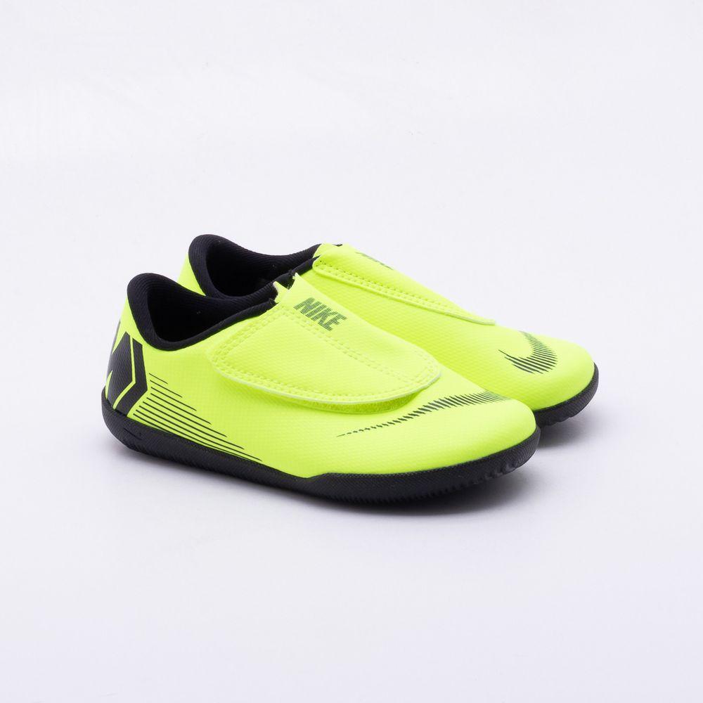 Chuteira Futsal Nike JR MercurialX Vapor 12 IC Infantil Verde Limao ... 6140717e93677