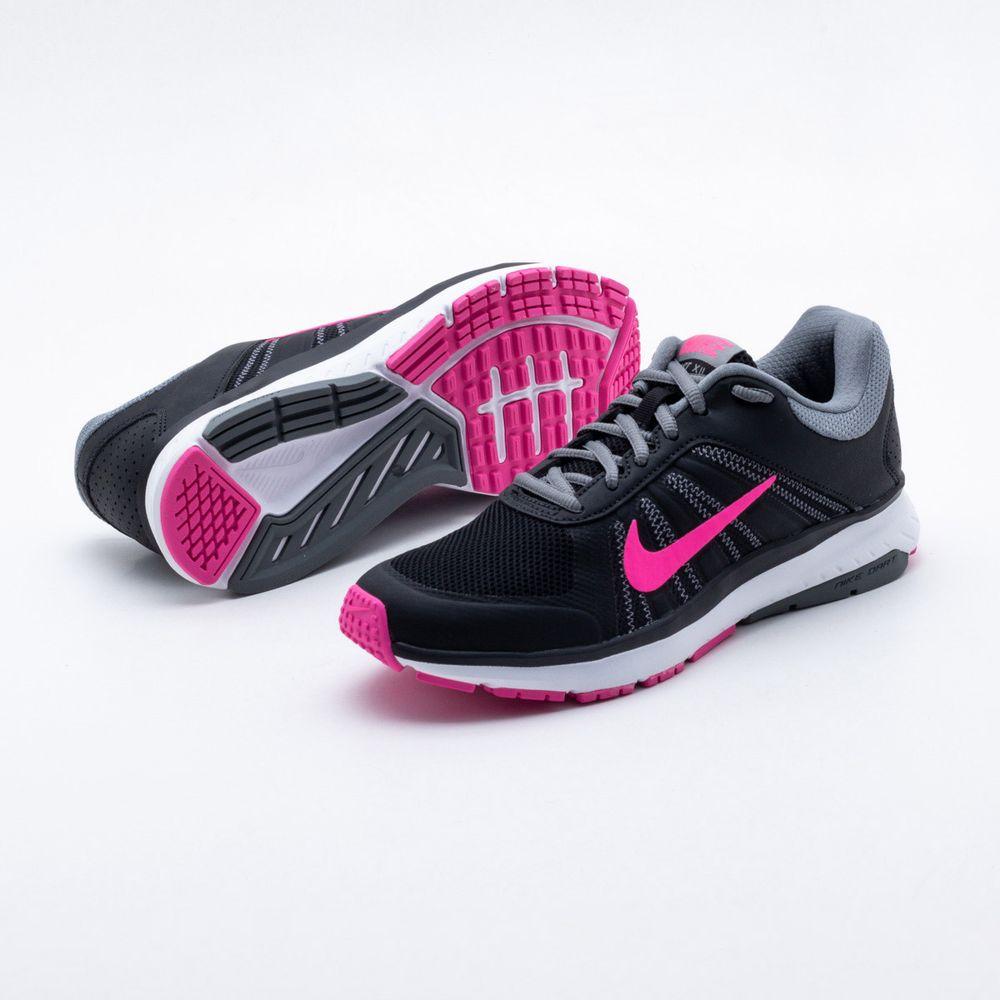 bba9af94a1d Tênis Nike Dart 12 MSL Feminino Preto e Pink - Gaston - Paqueta Esportes