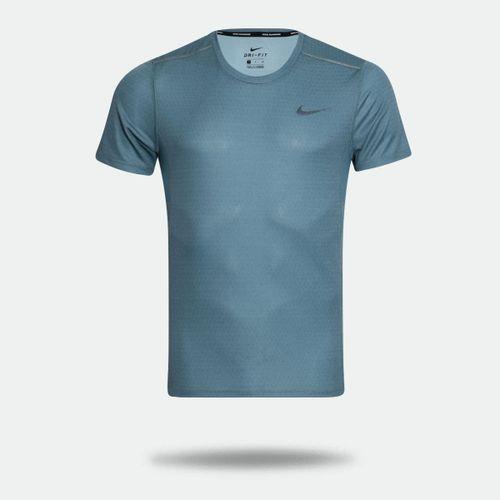 a44afb16446d8 Camiseta Nike Miler Celeste Masculina