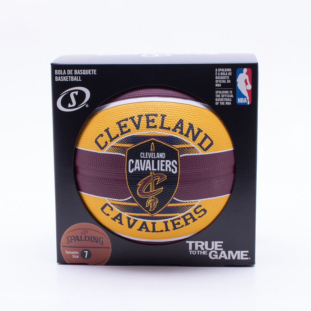09f1427b0 Bola Basquete Spalding NBA Cleveland Cavaliers Amarelo - Gaston ...