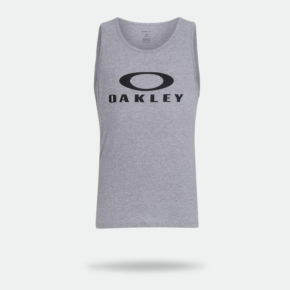 9492150b5a Camiseta Regata Oakley Bark Tank Cinza Masculina Cinza - Gaston ...