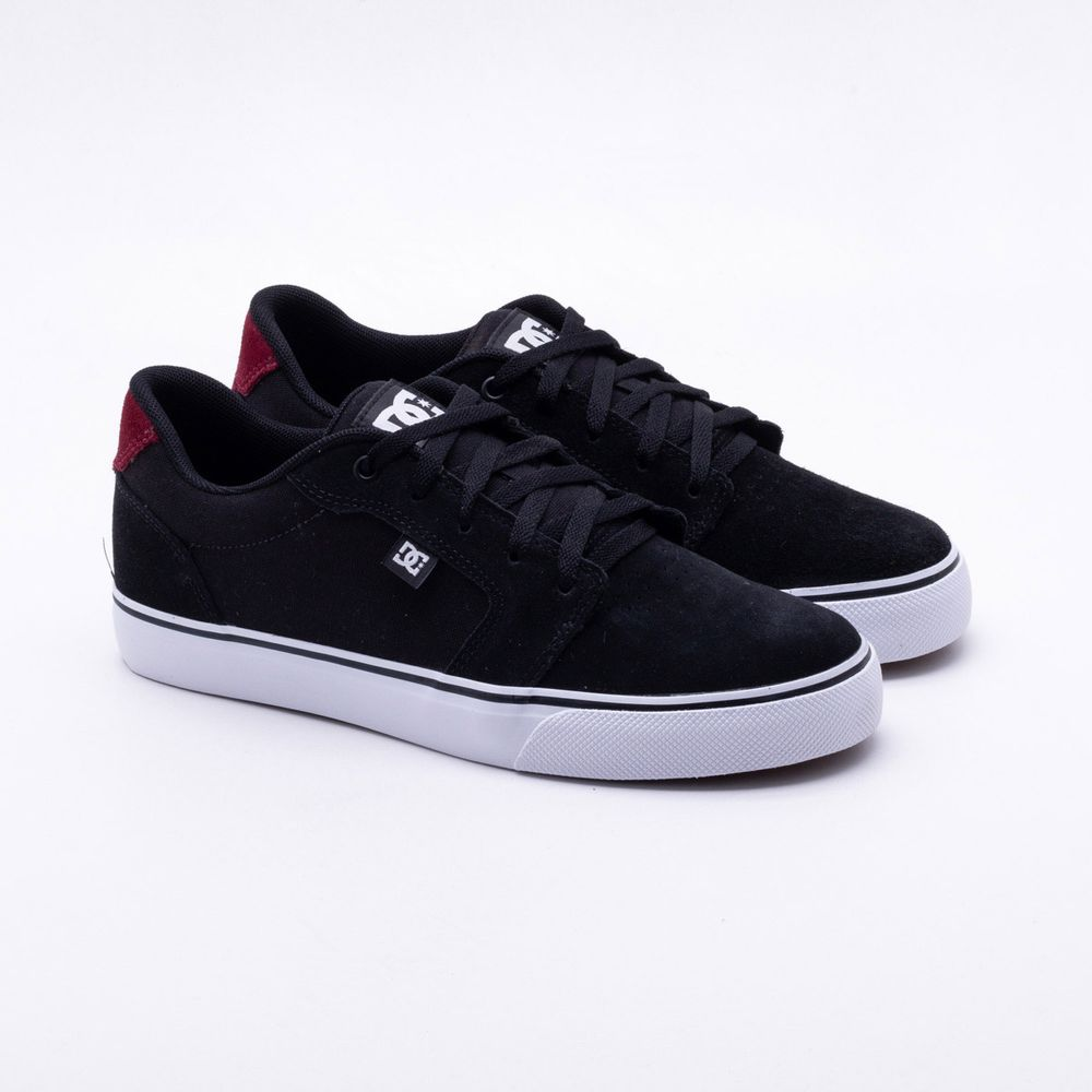 Tênis DC Shoes Anvil LA Preto Masculino Preto - Gaston - Paqueta ... c764501be4ed3