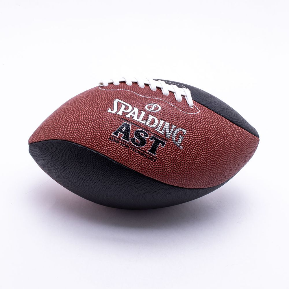 ddf7a903e Bola Futebol Americano Spalding Ast Spiral Laranja e Preto - Gaston ...
