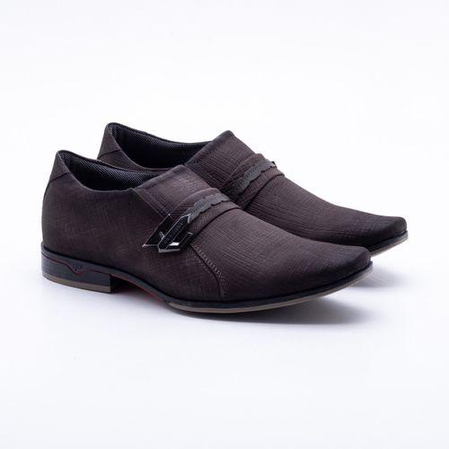 Sapato Social Pegada Elegant Café Masculino