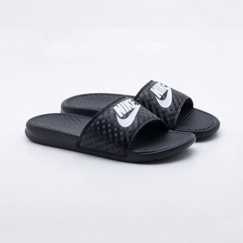 Slide Nike Benassi JDI Preto Feminino f63076c657fb3
