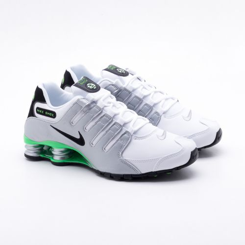 Tênis Nike Shox NZ Branco Masculino 02967c4c9bf8f