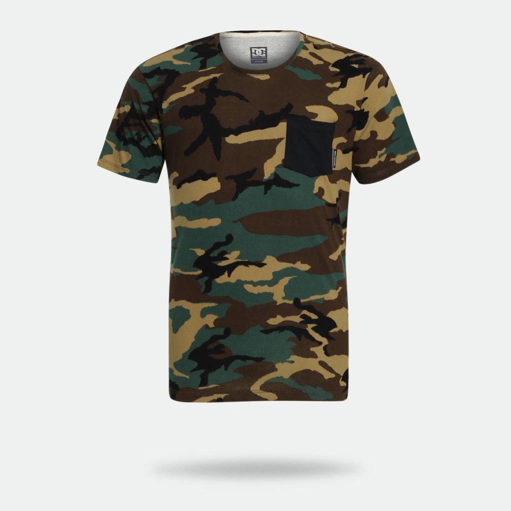 ad026f1381cc8 Camiseta DC Shoes Camo Verde Militar Masculina Verde Militar ...