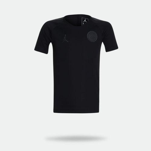 eebd7d1a7 Camisa Nike Jordan X PSG 2018 2019 Torcedor Preta Infantil