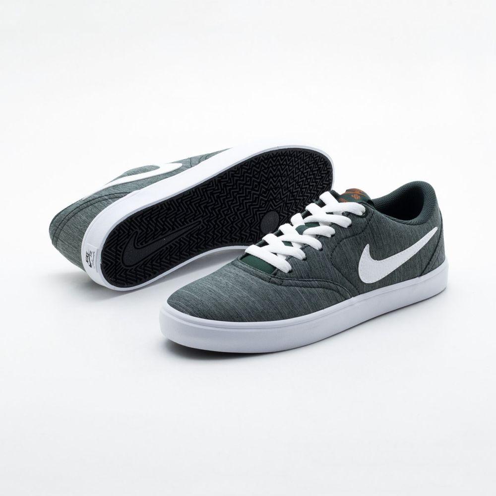 Tênis Nike SB Check Solar Canvas Verde Masculino Verde - Gaston - Paqueta  Esportes 84823ad2acf46