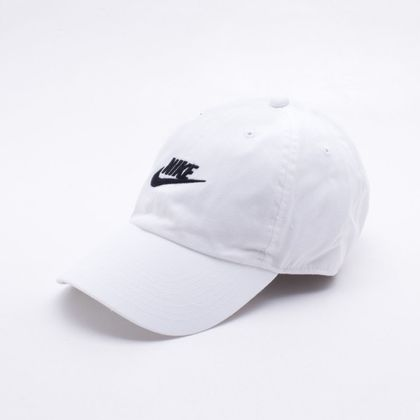 3df5cc8802d80 Boné Nike NSW H86 Futura Washed Branco Branco - Gaston - Paqueta Esportes