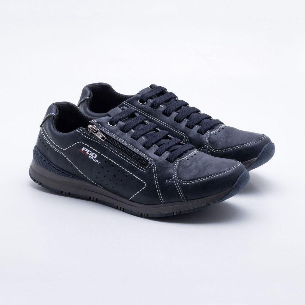 26c3223db19 Sapatênis PGD Sneaker Azul Masculino Azul - Gaston - Gaston