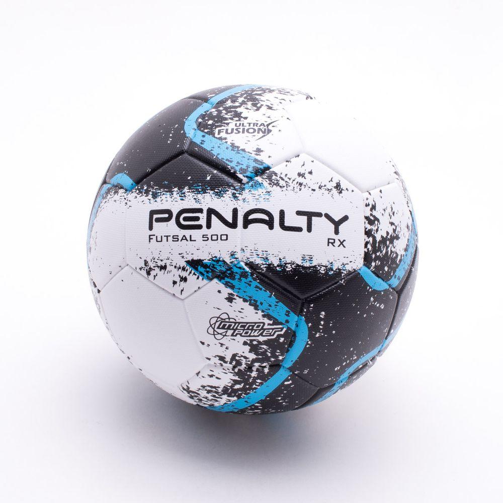 Bola Futsal Penalty RX 500 R2 VIII Branco e Preto - Gaston - Paqueta ... 9552beb57a37f