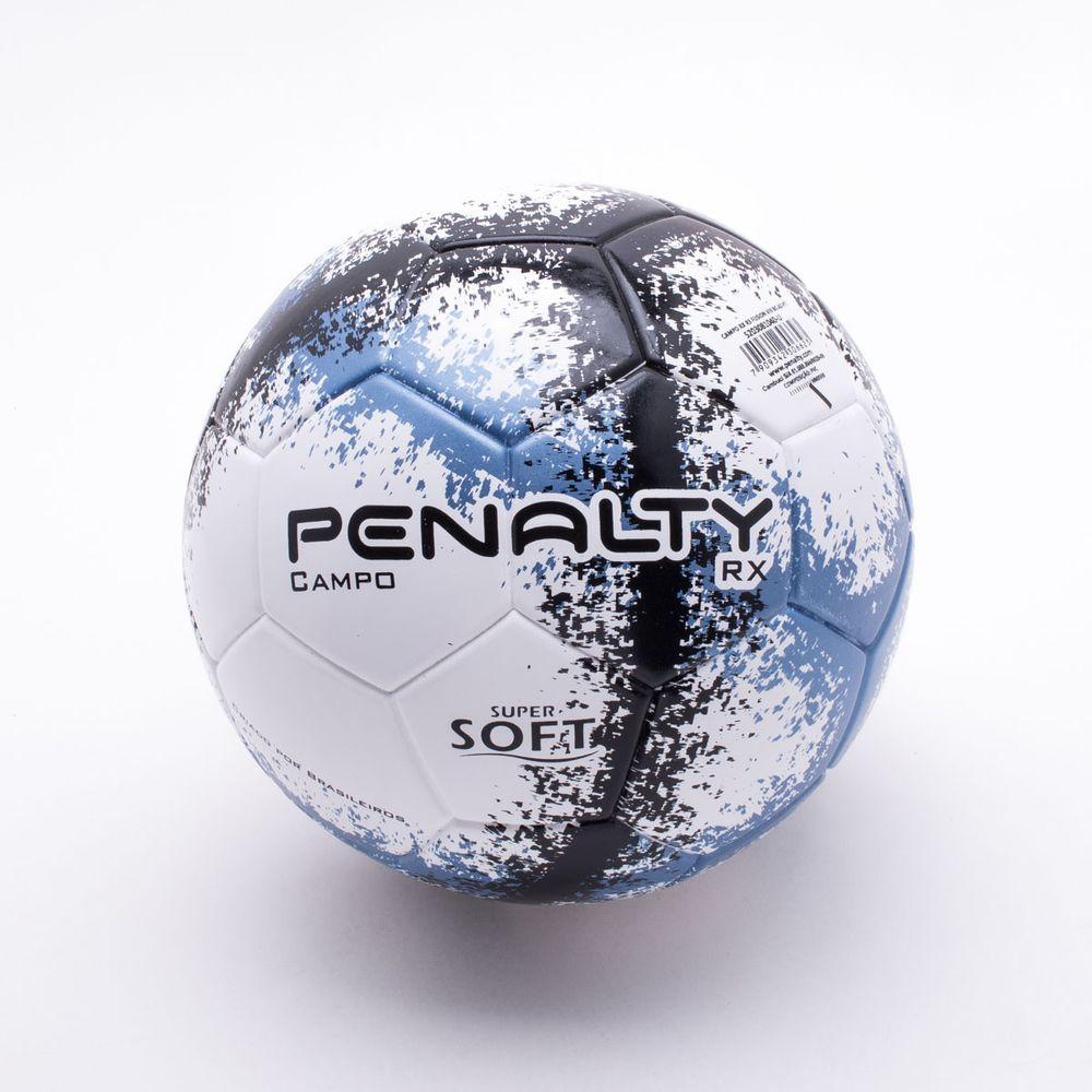 Bola Futebol Campo Penalty RX R3 Fusion VIII Branco e Azul - Gaston ... a843d64881a93