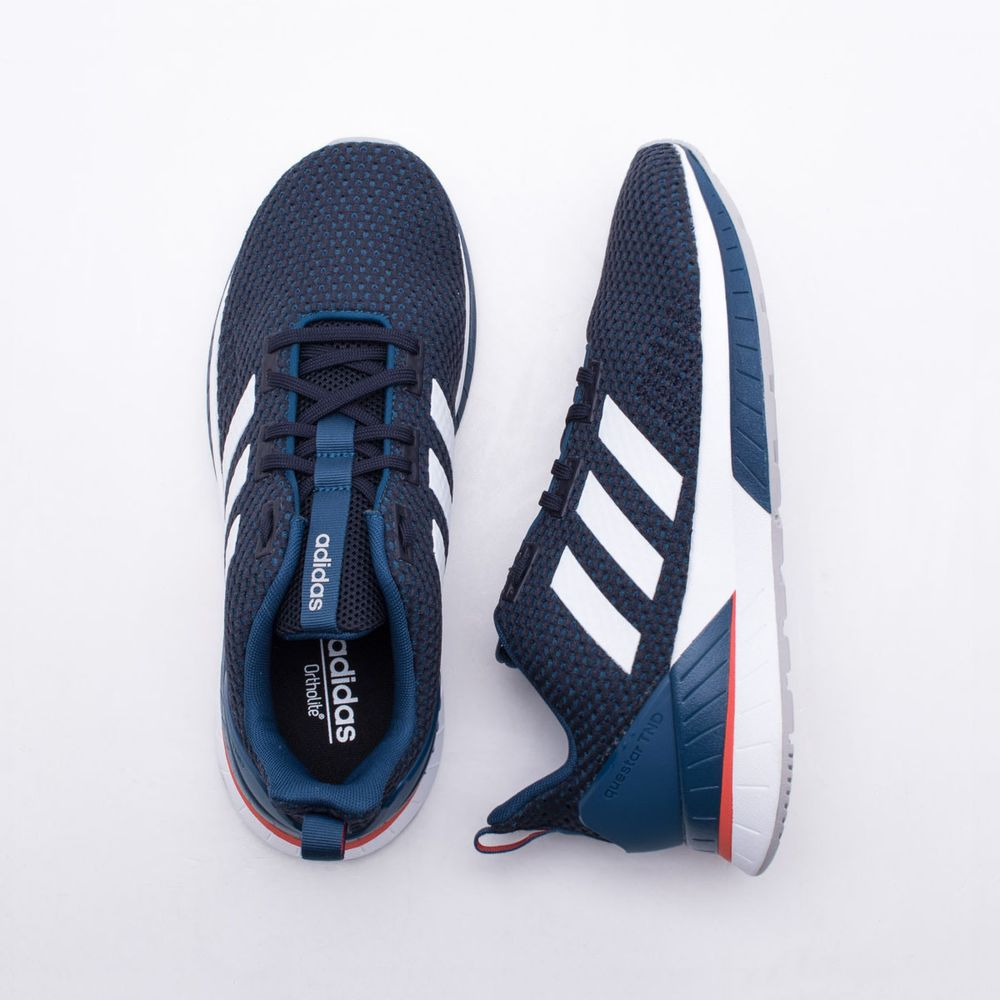 78cbb4b54b6 Tênis Adidas Questar TND Masculino Azul - Gaston - Paqueta Esportes