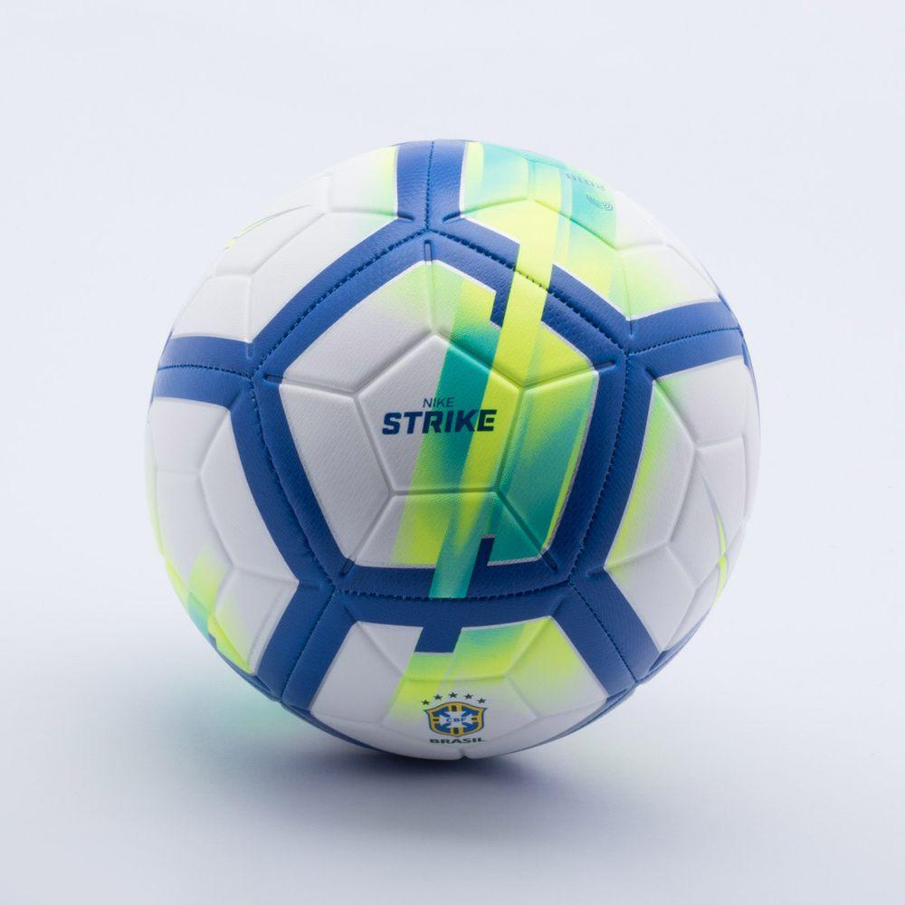Bola Futebol Campo Nike CBF Strike Branco e Azul - Gaston - Paqueta ... 4a91f1e4f5fcc