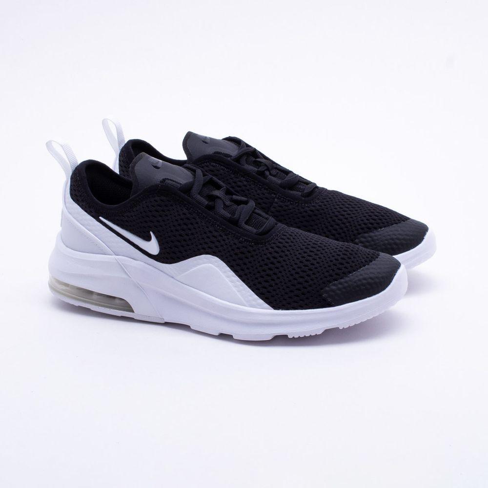 Tênis Nike Juvenil Air Max Motion 2 Preto Preto e Branco - Gaston ... f2a556b78bfd4
