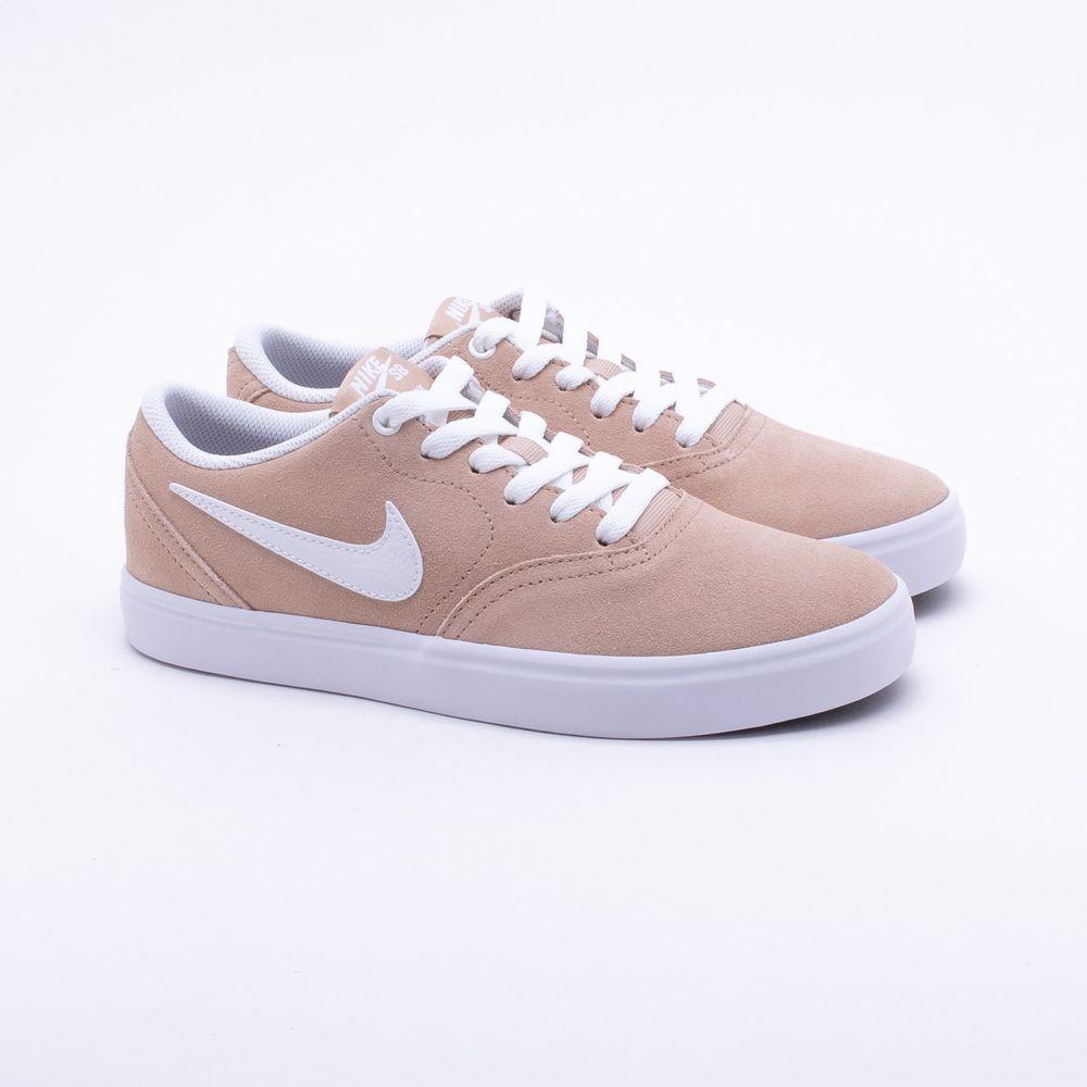27f5c4a171 Tênis Nike SB Check Bege Feminino Bege - Gaston - Paqueta Esportes