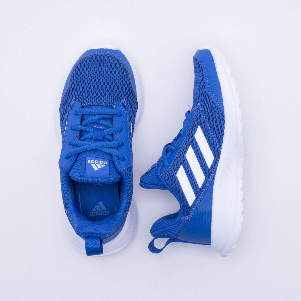 e57358d3b9 Tênis Adidas Infantil Altarun K Azul Azul e Branco - Gaston - Paqueta  Esportes