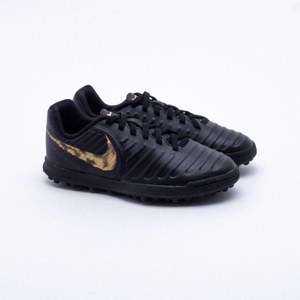 53dbd3fefc Chuteira Society Nike Tiempo LegendX 7 Club TF Infantil