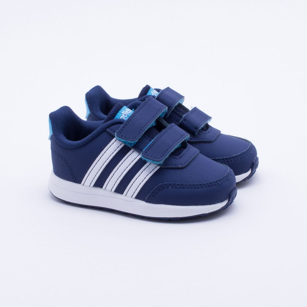 001b01caef906 Tênis Adidas Baby Switch 2.0 Azul Azul e Branco - Gaston - Paqueta ...