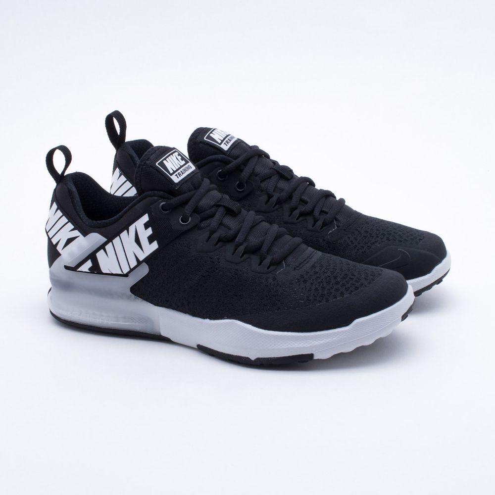 8b4e34d6340 Tênis Nike Zoom Domination TR 2 Masculino Preto e Branco - Gaston ...
