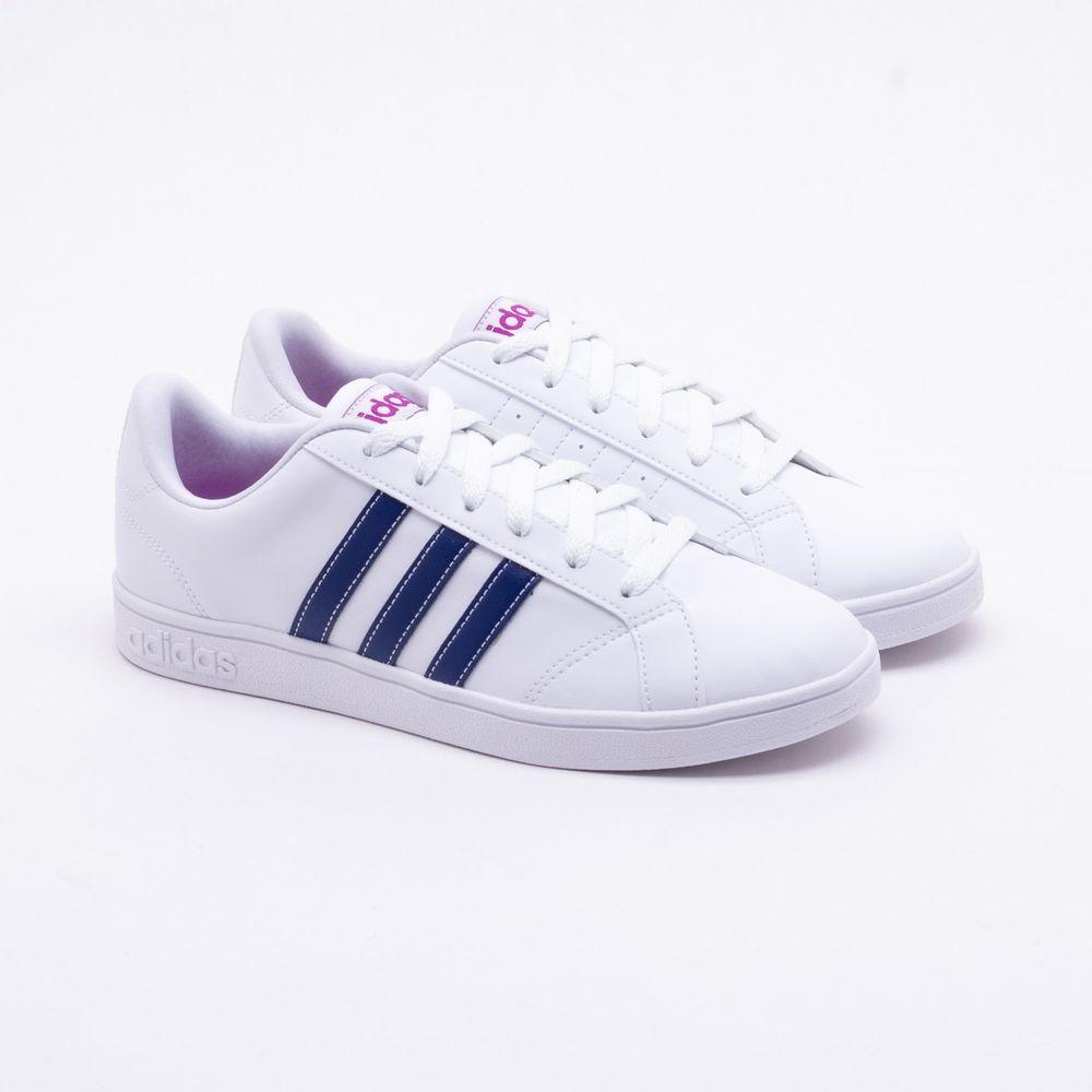 77f29508c Tênis Adidas VS Advantage Branco Feminino Branco - Gaston - Gaston