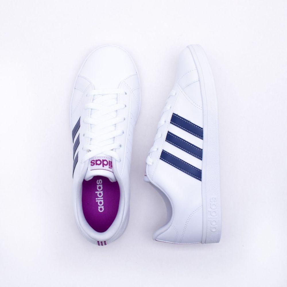 Tênis Adidas VS Advantage Branco Feminino Branco - Gaston - Paqueta Esportes b32f4a142b2b4