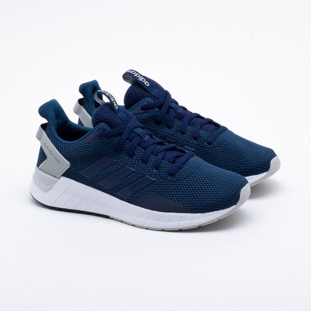 0f3055db7b6 Tênis Adidas Questar Ride Masculino Azul - Gaston - Paqueta Esportes
