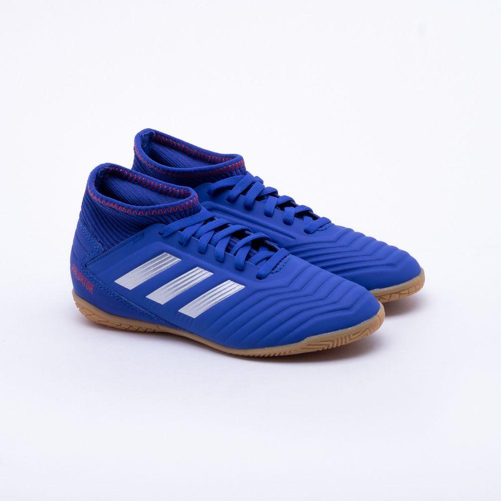 de446c4ced149 Chuteira Futsal Adidas Predator Tango 19.3 IN Infantil Azul - Gaston ...