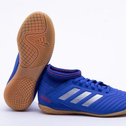 e9ae89c14de8f Chuteira Futsal Adidas Predator Tango 19.3 IN Infantil Azul - Gaston -  Paqueta Esportes