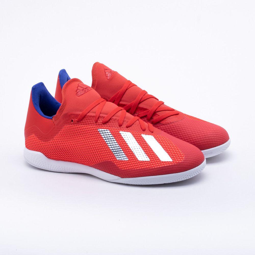 f4d9a1ad3451b Chuteira Futsal Adidas Tango X 18.3 IN Vermelho - Gaston - Paqueta ...