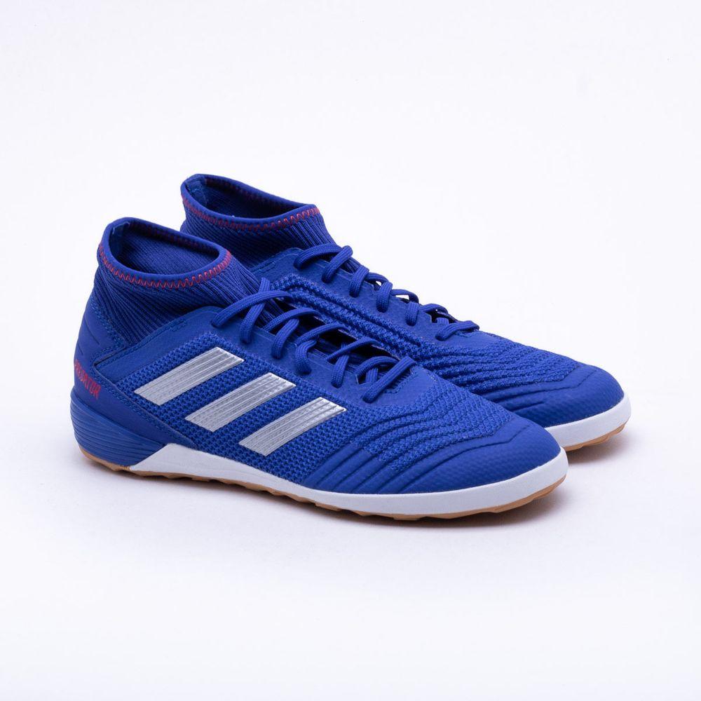 Chuteira Futsal Adidas Predator 19.3 IN Azul - Gaston - Paqueta Esportes 40a665fb7226c