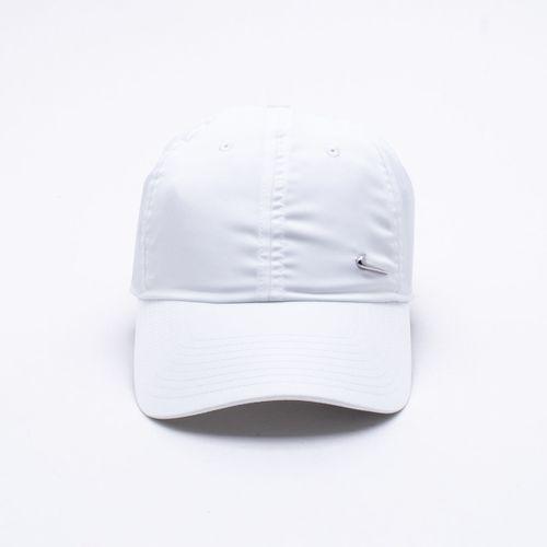 4647f50c7702f Boné Nike Metal Swoosh Branco