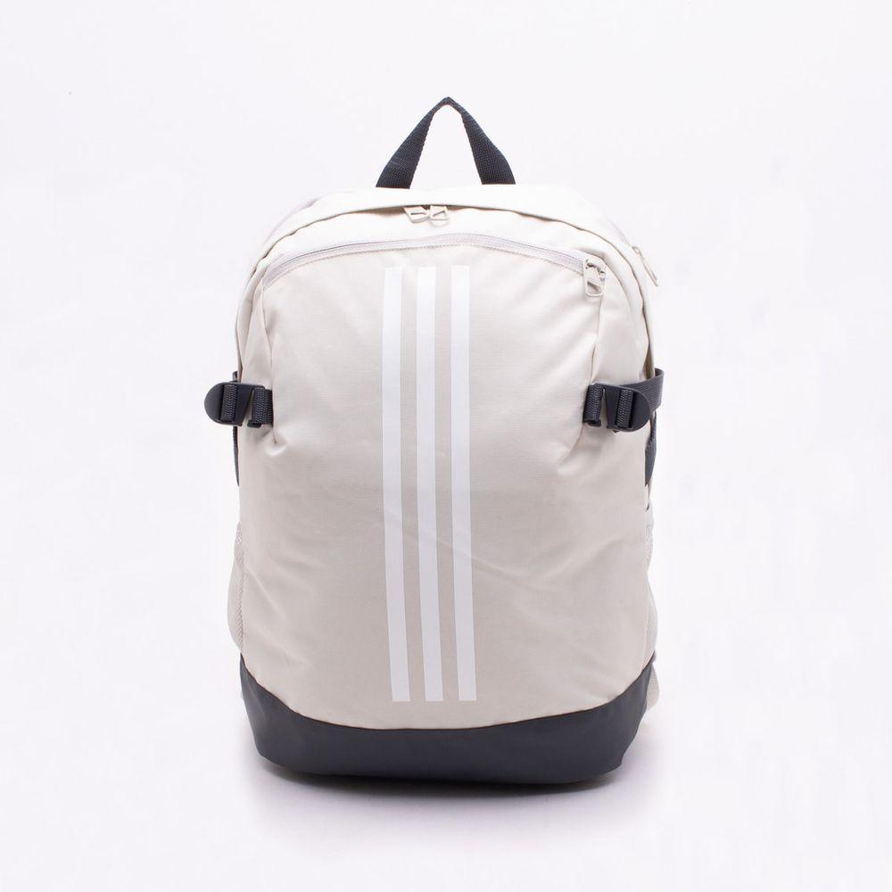 a888b97d8 Mochila Adidas 3-Stripes Power IV Bege Bege - Gaston - Gaston