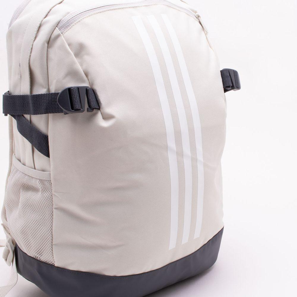 694b7989c Mochila Adidas 3-Stripes Power IV Bege Bege - Gaston - Paqueta Esportes